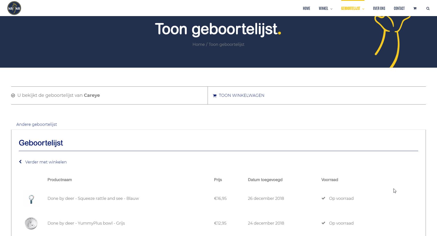 Webshop Poperinge