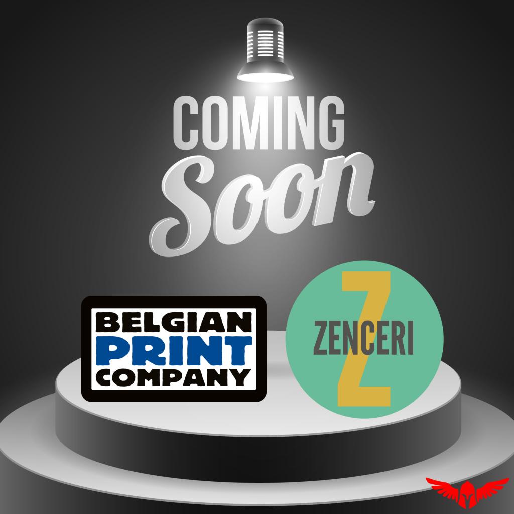 Binnenkort brengt Petasos u de nieuwe website van Belgian Print Company & Zenceri.