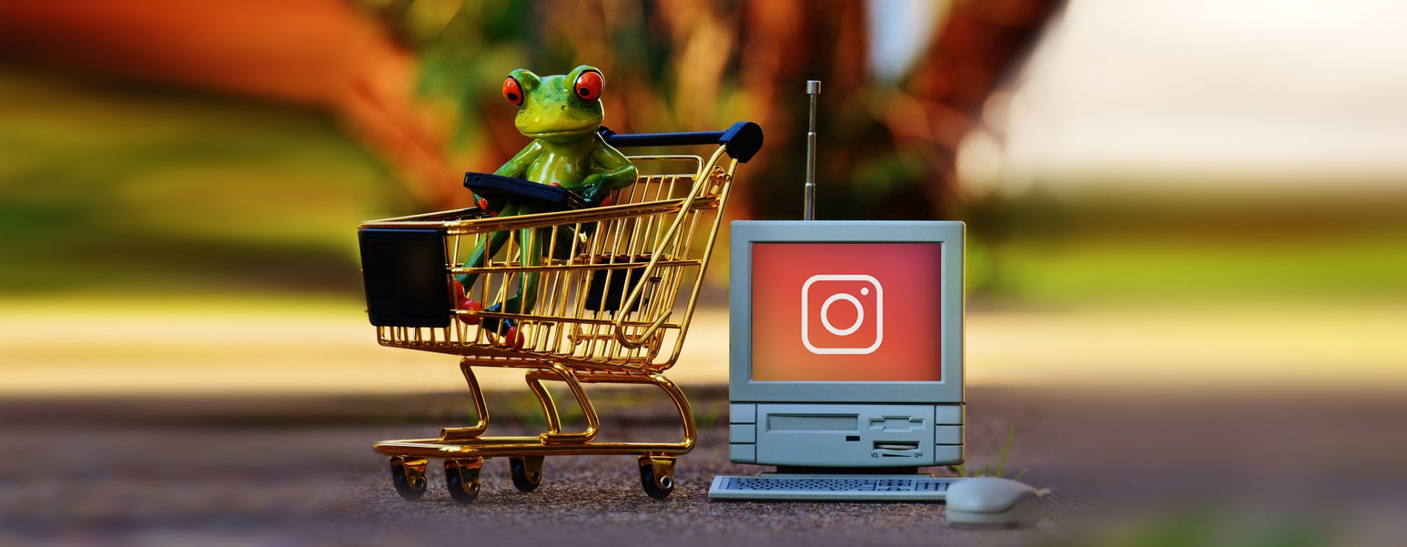 Instagram en Facebook shopping