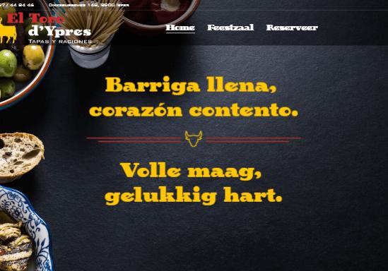 El Toro d'Ypres homepage